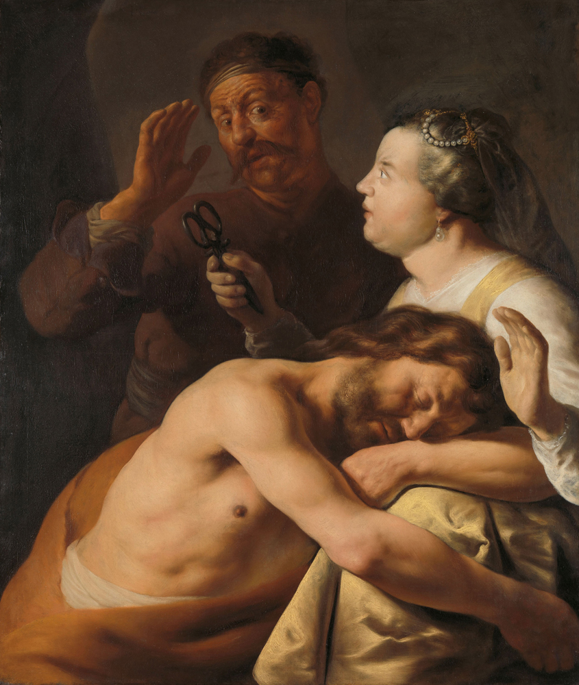 2020 Young Rembrandt Exhibition – Jan Lievens, Samson and Delilah, c. 1628–9 © Rijksmuseum, Amsterdam