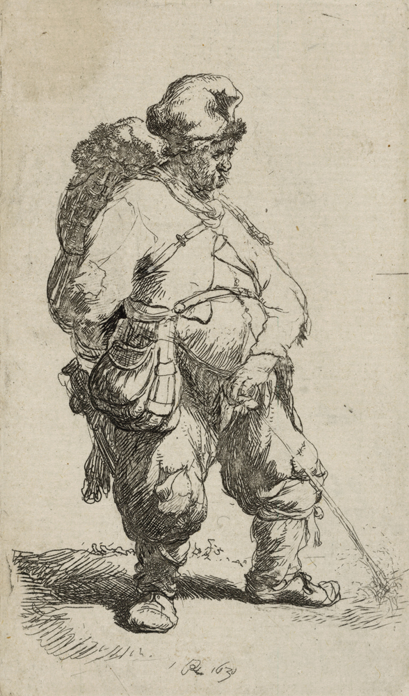 2020 Young Rembrandt Exhibition – Rembrandt, A man urinating, 1631 © British Museum, London