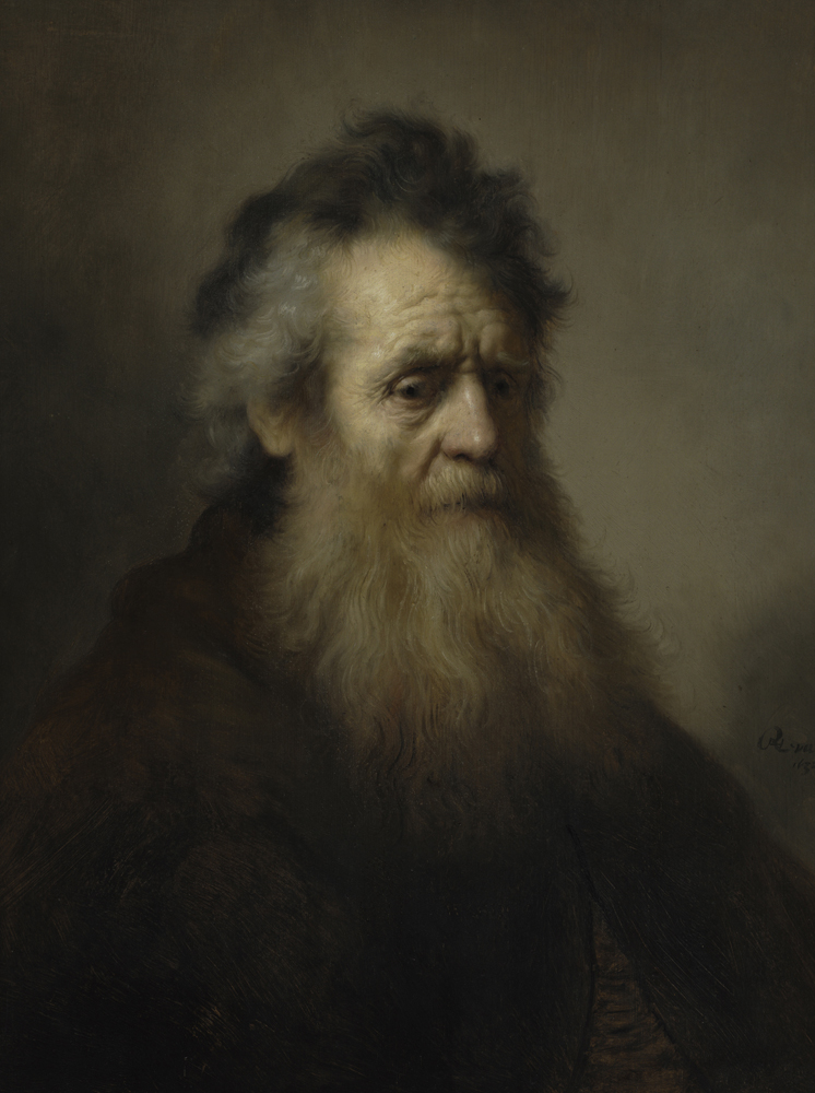 2020 Young Rembrandt Exhibition – Rembrandt, Bearded Old Man, 1632 © Fogg Museum, Harvard Art Museums, Cambridge, MA