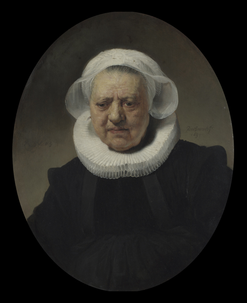 2020 Young Rembrandt Exhibition – Rembrandt, Portrait of Aechje Claesdr, 1634 © National Gallery, London
