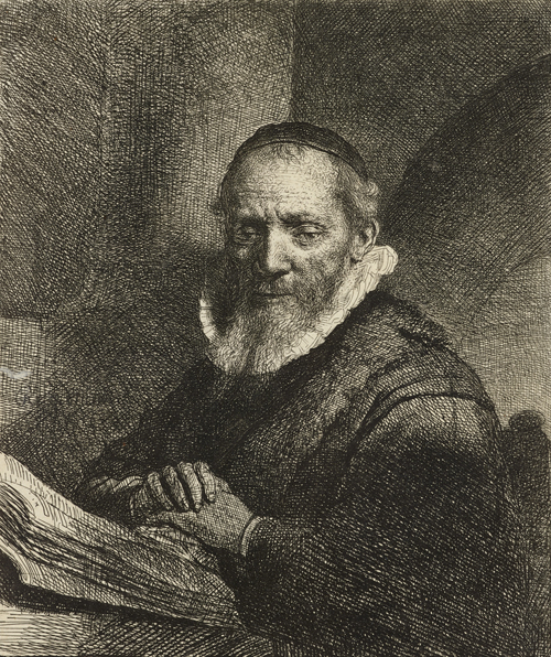 2020 Young Rembrandt Exhibition – Rembrandt, Portrait of Jan Cornelisz Sylvius, 1633 WA1855_364 © Ashmolean Museum