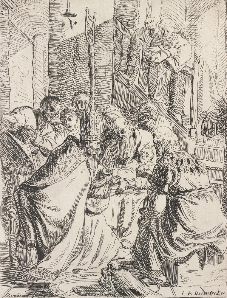 2020 Young Rembrandt Exhibition – Rembrandt, The Circumcision, c. 1625 © Museum Het Rembrandthuis, Amsterdam
