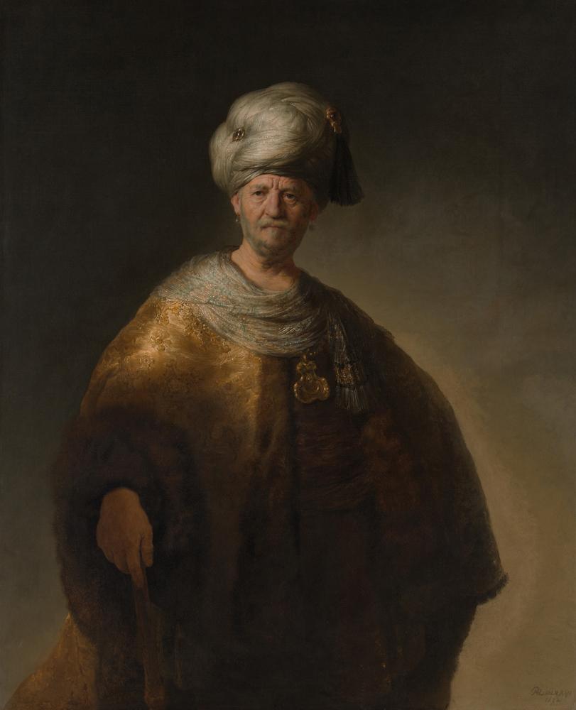 "2020 Young Rembrandt Exhibition – Rembrandt, ""The Noble Slav"", 1632 © Metropolitan Museum of Art, New York"