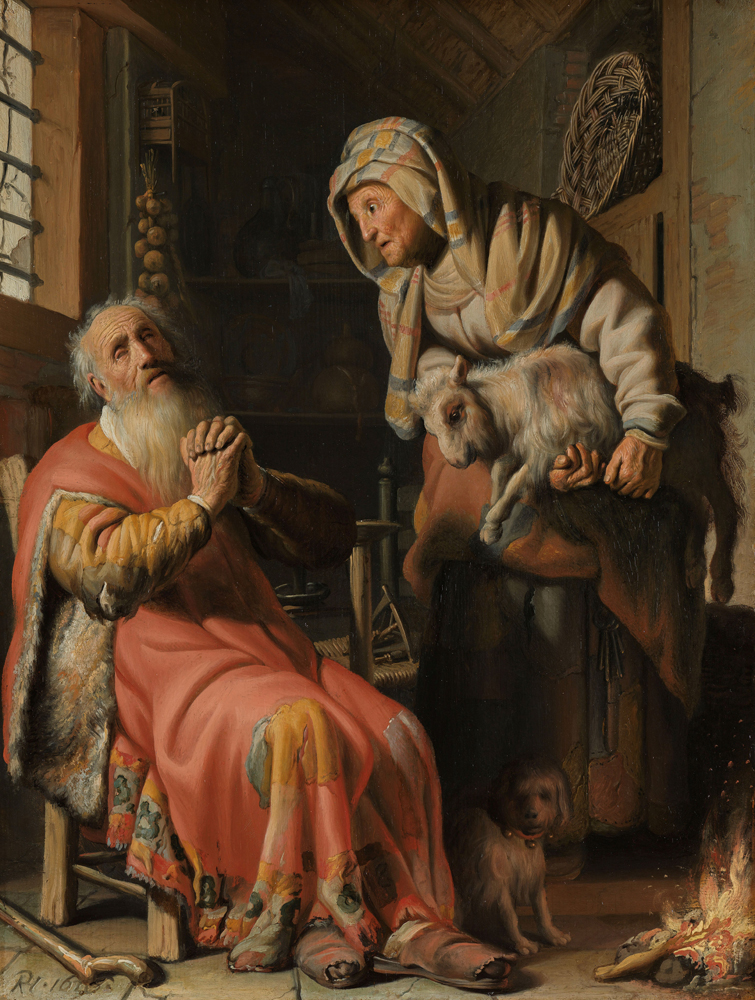 2020 Young Rembrandt Exhibition – Rembrandt, Tobit Accusing Anna of Stealing the Kid, 1626 © Rijksmuseum, Amsterdam