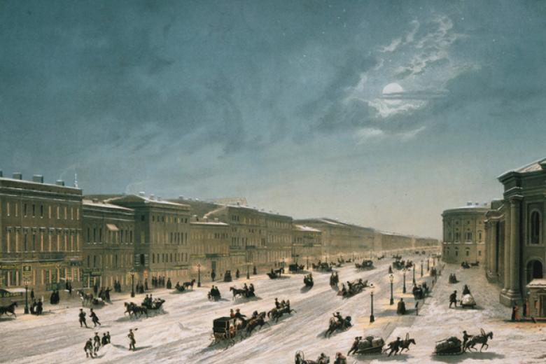 View of Nevsky Prospect