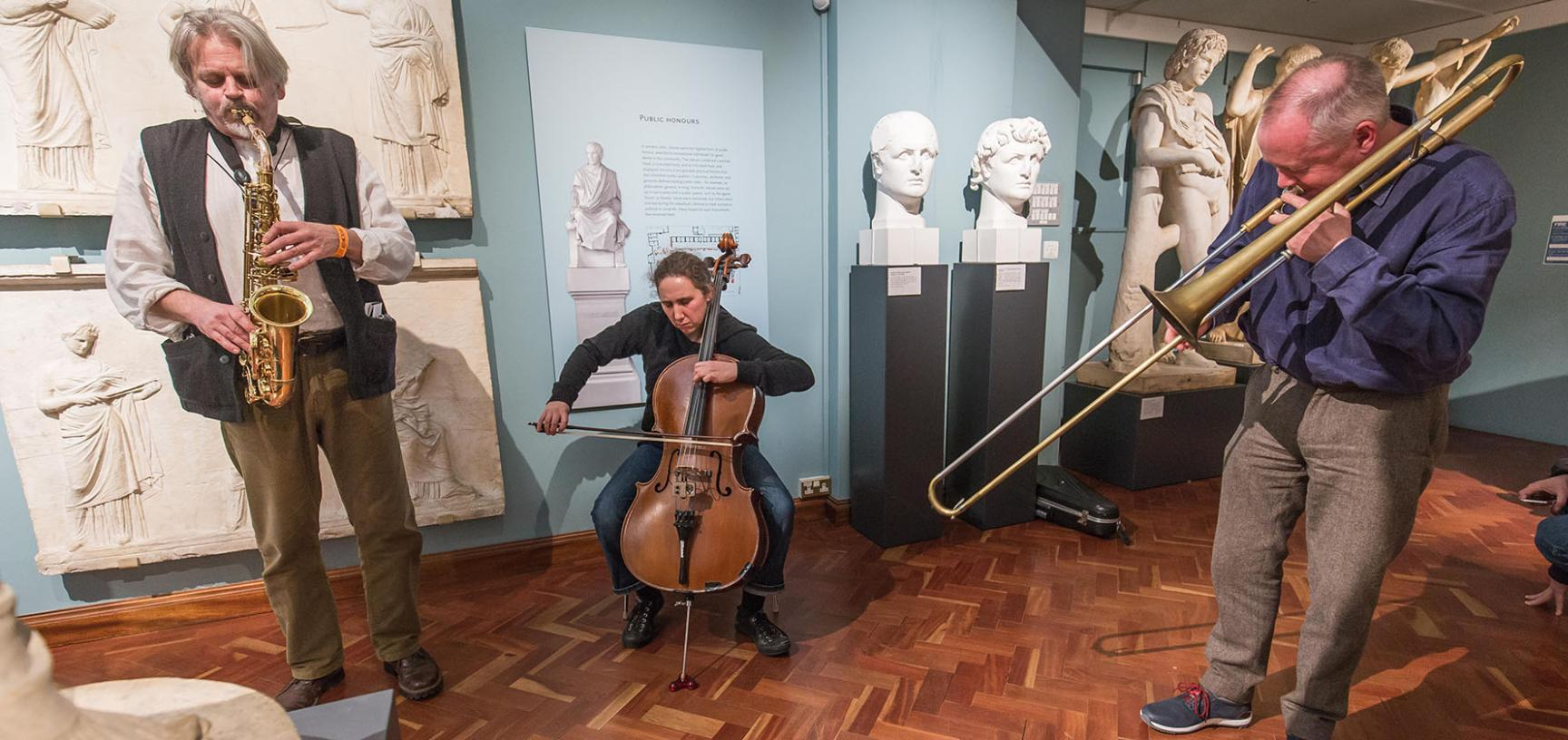 Ashmolean Venue Hire – Music in the Cast Gallery