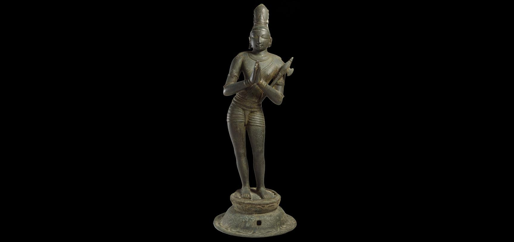 Figure of the Saint Chandikeshivara