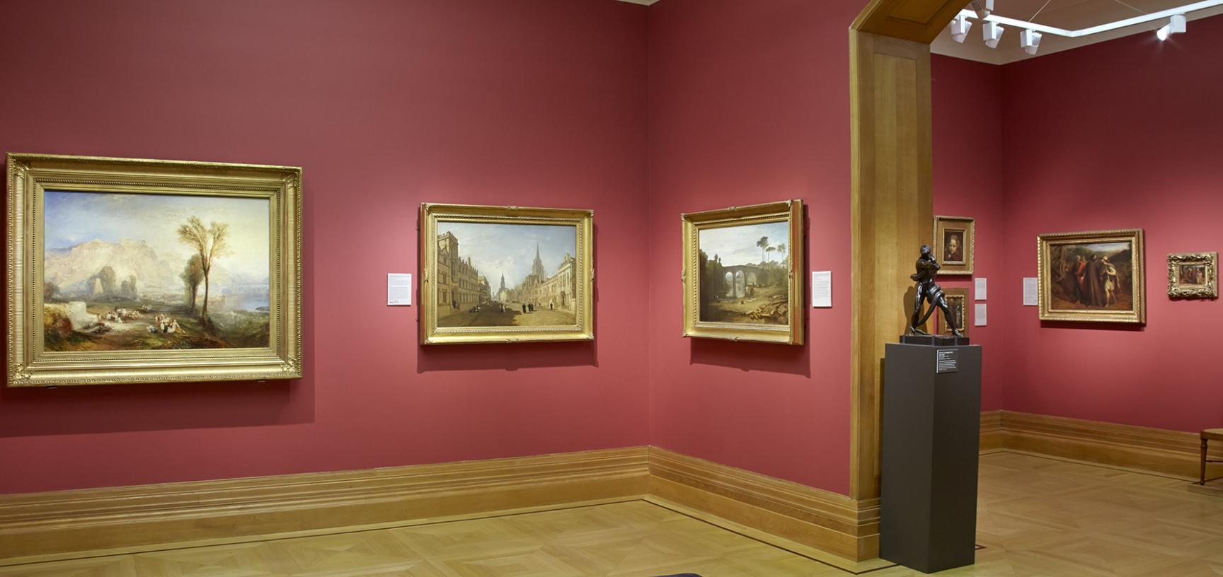 The 19th-Century Art Gallery at the Ashmolean Museum