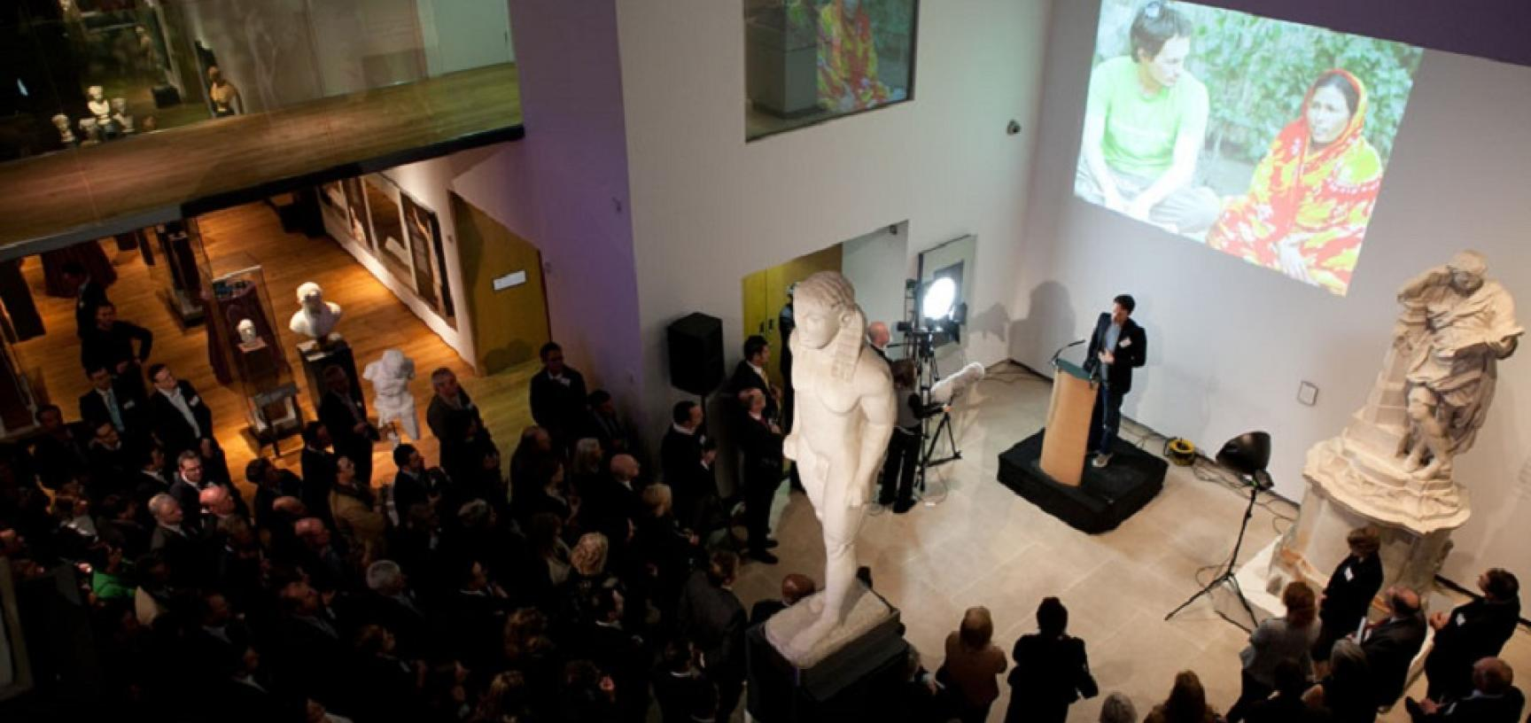 Speech in Atrium Corporate Ashmolean