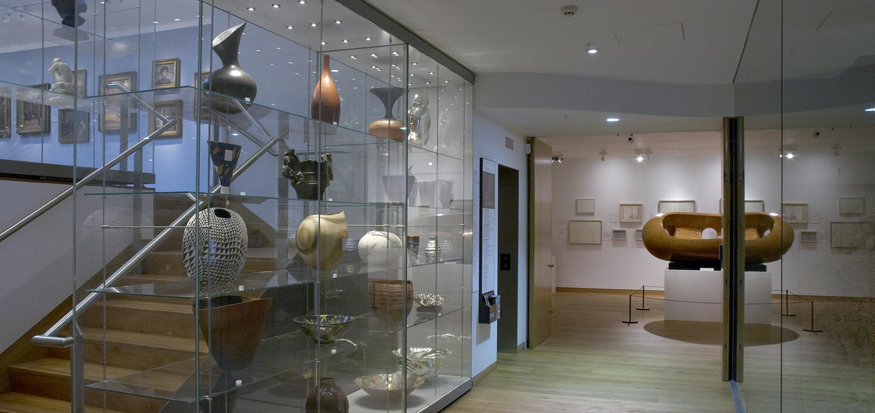 The Modern Art Gallery at the Ashmolean Museum