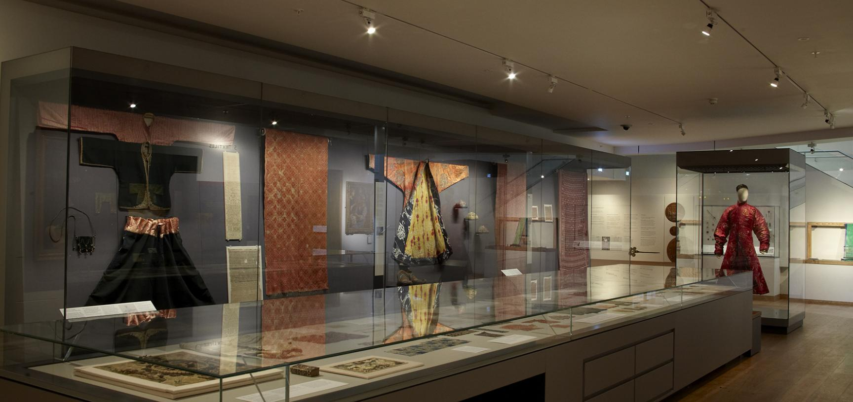 The Textiles Gallery at the Ashmolean Museum
