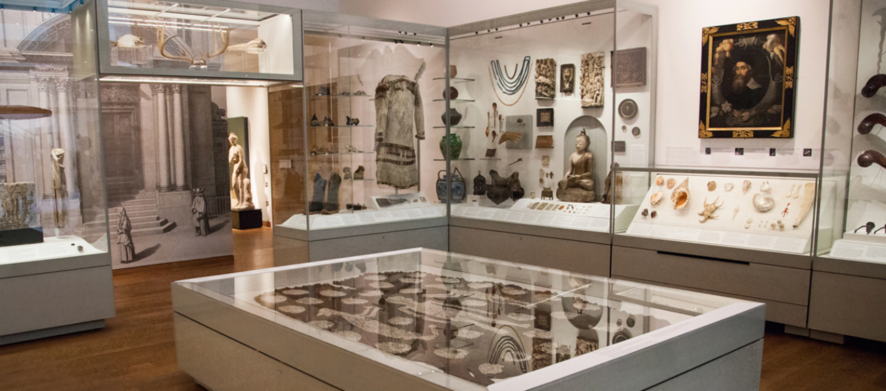 The Ashmolean Museum Gallery 2 – The Ashmolean Story