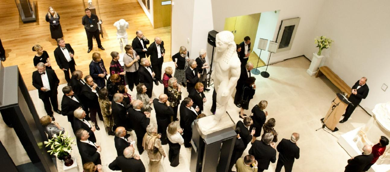 Ashmolean Venue Hire – Corporate Event in the Ashmolean Atrium