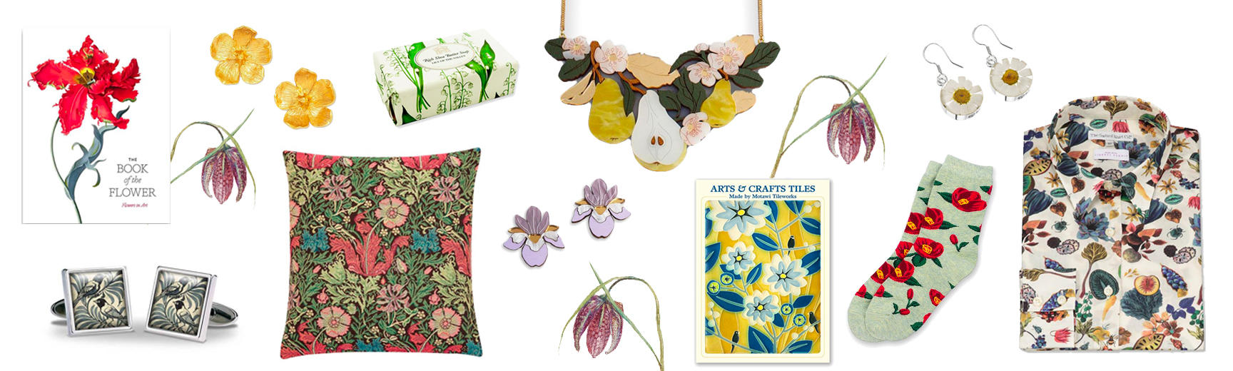 Selection of Floral Shop Products