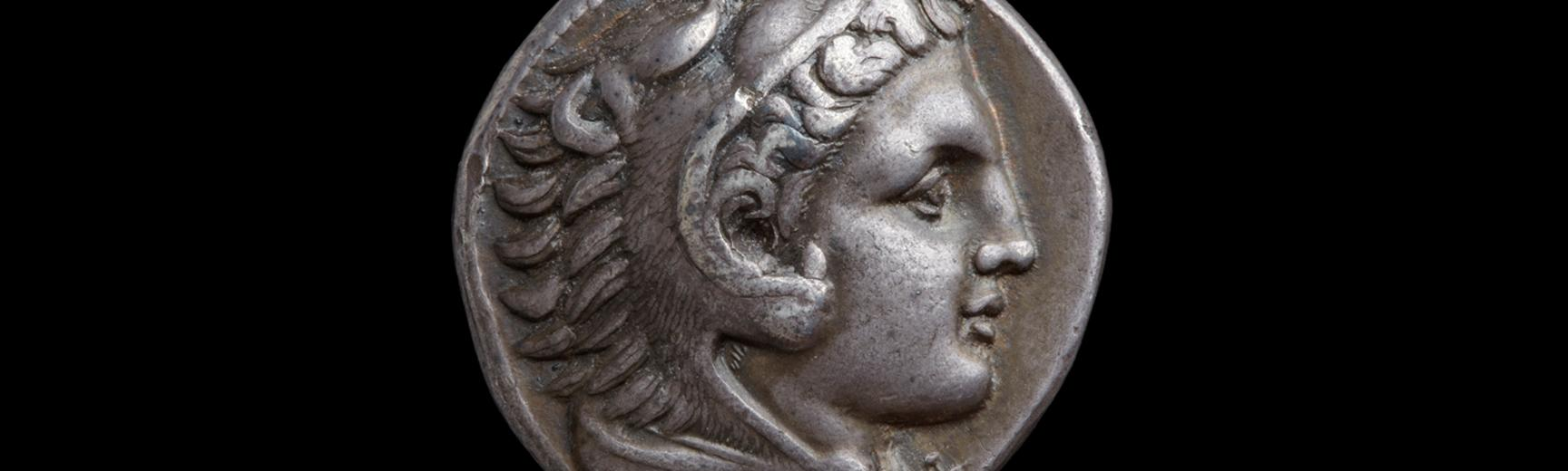 Silver tetradrachm of Alexander the Great