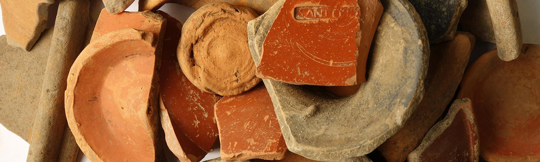 Pottery finds from the Berkshire Downs