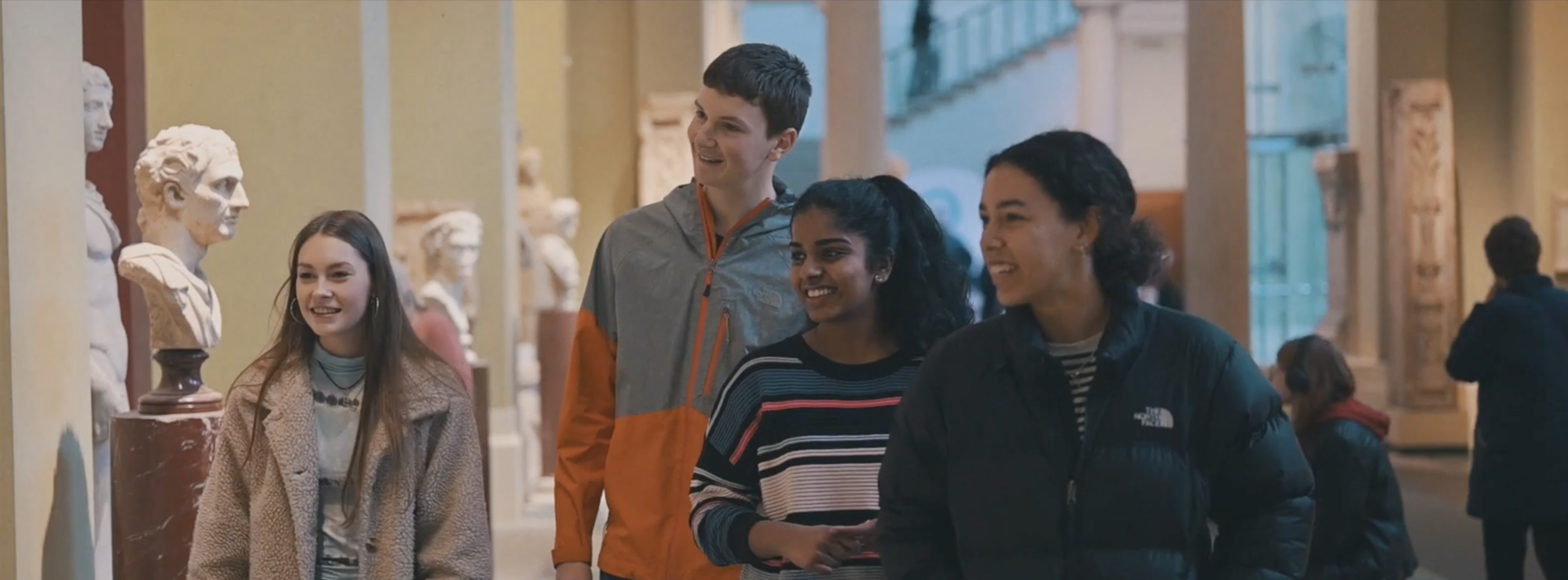 Young People enjoying the museum