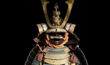 Ceremonal suit of armour for a samurai