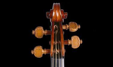 The 'Messiah' Violin by Antonio Stradivari (detail)