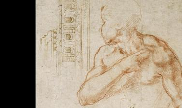 Michelangelo's studies by Michelangelo Buonarroti (detail)