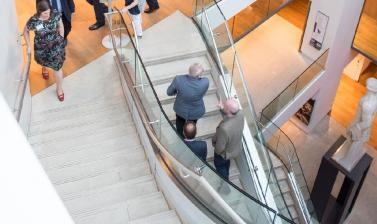 Corporate Staircase in Atrium