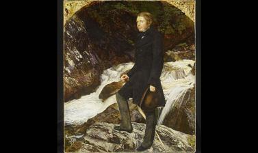 Portrait of John Ruskin by John Everett Millais