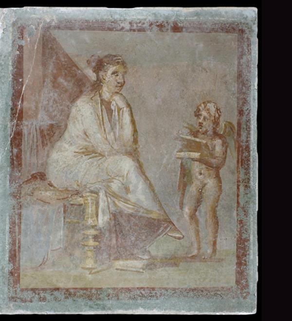fresco pompeii ashmolean