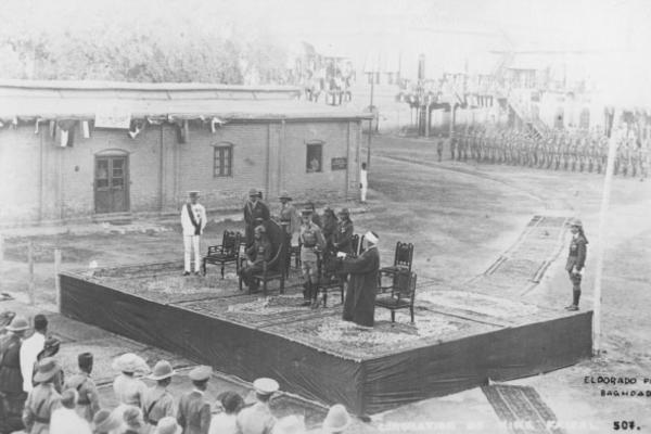 king feisal coronation baghdad august 1921