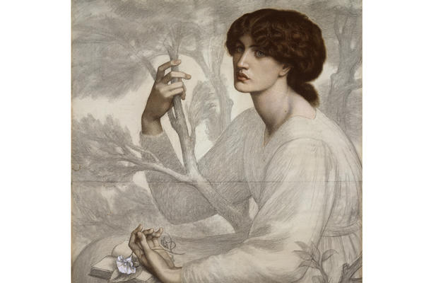 Dante Gabriel Rossetti, The Day Dream