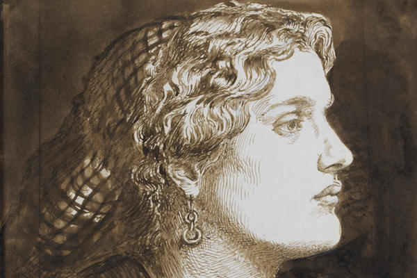 Dante Gabriel Rossetti, Portrait of Fanny Cornforth