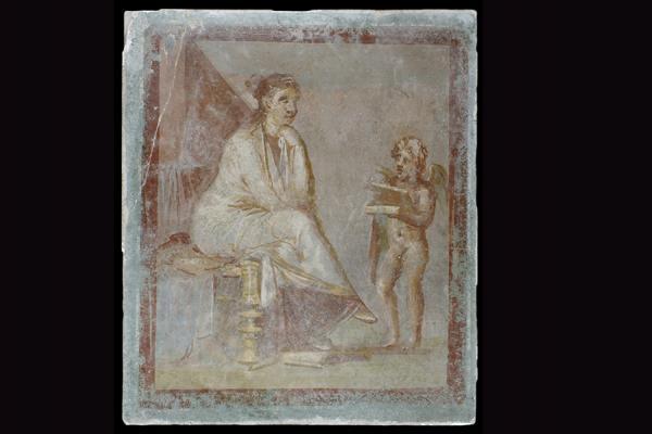an 1990 80 fresco pompeii