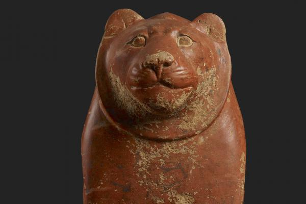Seated lion, Egypt, c. 2325-2175 BC