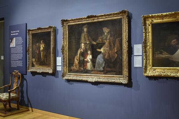 Dutch Art Gallery at the Ashmolean Museum