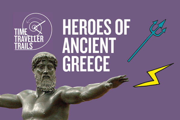 family trail heroes of ancient greece