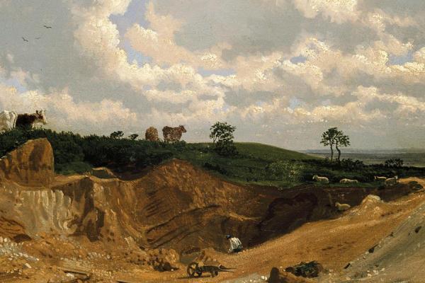 ashmolean landscape oil sketches