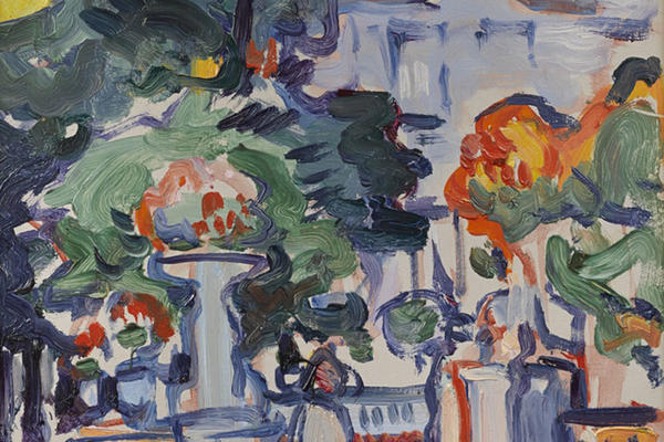 luxembourg gardens 1910 fleming collection Scottish Colourists, S.J. Peploe painters in their place