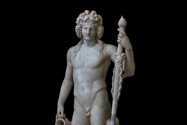 Bacchus. Museo Archeologico Nazionale di Napoli, AD 50–150.