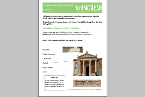 learn pdf ancient greece around the museum gallery trail