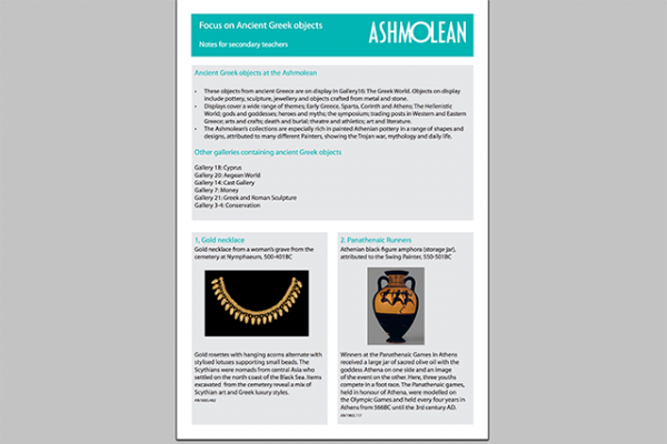 learn pdf focus on ancient greek objects