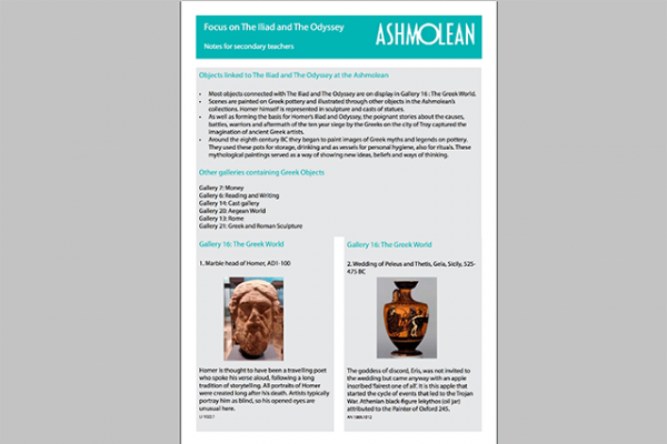 learn pdf focus on the iliad and the odyssey