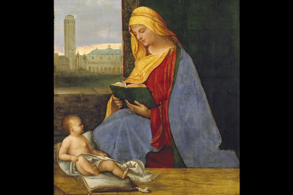 wa 1949 222 the virgin child with a view of venice