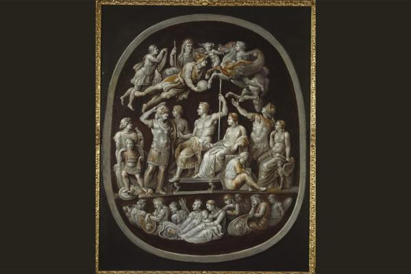 The Apotheosis of Germanicus (Gemma Tiberiana) by Sir Peter Paul Rubens