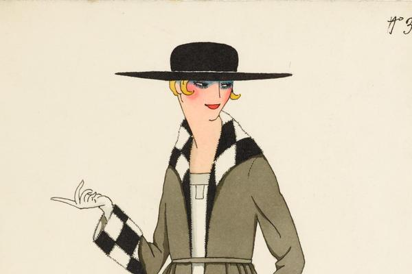 Alberto Fabio (Fabius) Lorenzi (1880–1964), Costume Design No 3