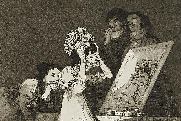 Hasta la Muerta (Until death) by Goya