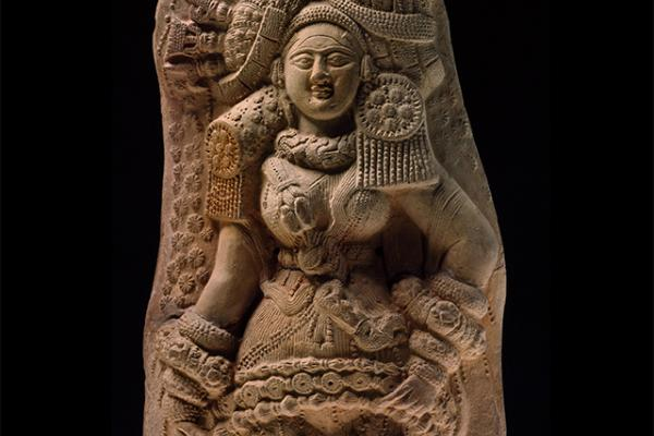 Plaque with Yakshi (nature spirit), 2nd Century