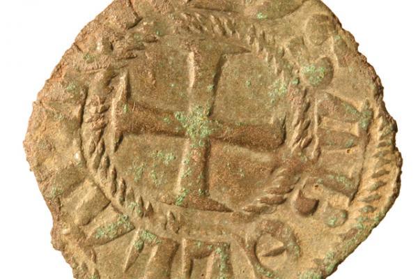 Billon coin from the Thasos excavations Ashmolean