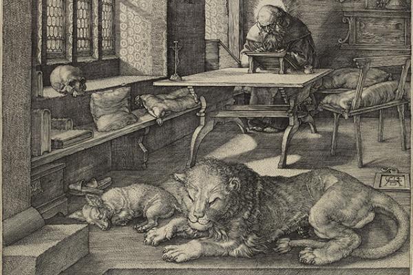 St Jerome in his Study by Albrecht Dürer
