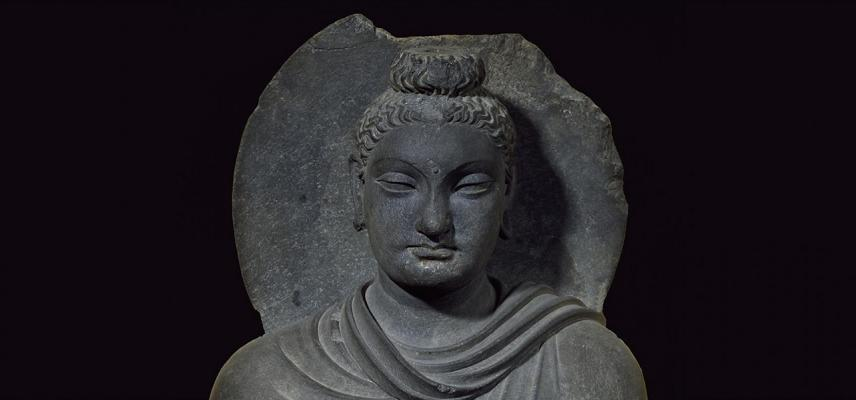 STANDING FIGURE OF THE BUDDHA from the Ashmolean collections