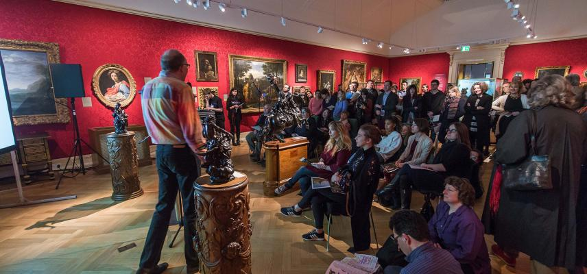 Ashmolean Venue Hire - Events in the Baroque Gallery