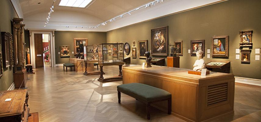 The Italian Renaissance Gallery at the Ashmolean Museum